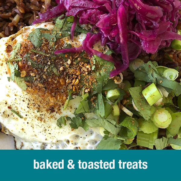baked & toasted treats