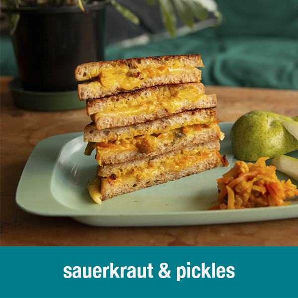 sauerkraut & pickles